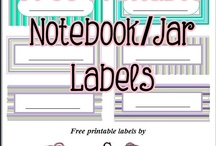 Free Printables / Free printables which include free labels, charts, party sets etc.
