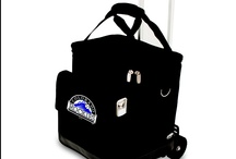 Major League Baseball Totes, Containers, Chairs / Colorado Rockies MLB Licensed Products to take to the ballgame. Coors Field and you will create attention as you walk into the park with these great products. / by Tom Rusch