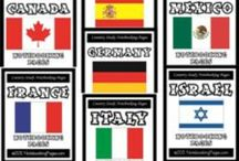 Countries and Cultures 2014-2015 school year