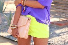 Summer Outfits / Preciosos y coloridos estilismos para estar preciosa en verano y primavera