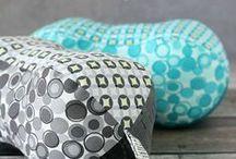 -DIY Pillows / Collection of fun pillows for inspiration. #Pillows