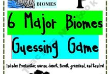 Science - Biomes, Habitats, Animals