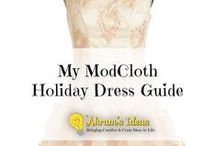 Fashion: Holiday Dress guide / by Akram Taghavi-Burris