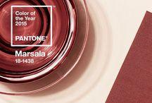 Marsala / El color de 2015 según Pantone