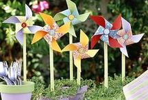 Garden Party / Inspirations, ideas, and decorations for outdoor entertaining
