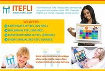 ITEFLI Flyers & Brochures / International TEFL Institute Flyers & Brochures
