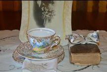 Tea Cups / Tea cups in everyday use at De Oude Huize Yard  #visitdeoudehuize