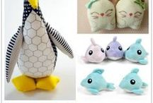 -Stuffed Animal Sewing Patterns / Find sewing patterns for stuffed animals, toys and dolls to sew as gifts.