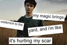 Harry Potter Nerds Unite / by Abby