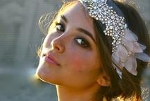 Wedding - hair / veil or no veil wedding hair ideas: headpieces, flower crowns, lace veils