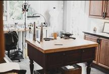 Studio Time with me / artists and their studio spaces