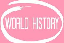world history / course description: an overview of the most interesting topics related to both current politics and historical events. the course will take an artistic approach to these topics and study the meanings of peace, war, ecology, etc.