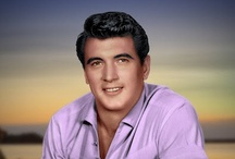 Rock Hudson (1925-1985) / Rock Hudson's legal name was Roy Fitzgerald.  He was close friends with Doris Day, and he didn't even let her know about his condition.  She learned just like everyone else.  Such a shame. / by Pat Marvin