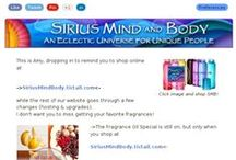 Sirius Mind and Body / An eclectic universe of the most amazingly delicious smelling alcohol-free fragrance oils and hand-rolled incense ever!