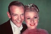 Fred Astaire (1899-1987)  Ginger Rogers (1911-1995) / This lady could really dance.,  Her and Fred Astaire were great together,