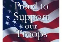 God Bless Our Troops / (Our real heros)