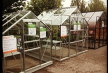 Greenhouses on display / Pictures from a variety of our UK stockists, who are generally garden centres or garden building specialist outlets