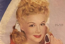 Betty Hutton (1921-2007) / She was so funny and was very musically inclined. / by Pat Marvin