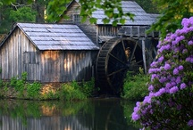 Down By the Old Mill Stream / I just love things like this and all the old Barns.