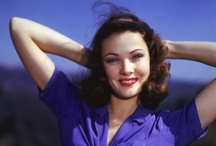 Gene Tierney (1920-1991) / A really beautiful lady.