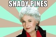 Bea Arthur (1922-2009) / I loved those Golden Girls and this is one funny lady.