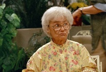 Estelle Getty (1923-2008) / Such a funny lady.  Oh, Sophia just couldn't stay out of trouble.