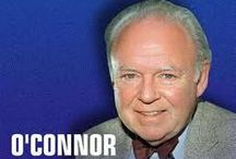 Carroll O'Connor (1924-2001) Hugh O'Connor (1962-1995) / My favorite TV show with Carroll O'Connor was In the Heat of the Night.  He appeared to be a real gentleman in real life.  When he lost his son it just broke his heart.  He spent the rest of his life tryng to find the person that sold his son bad drugs.  And fight Drugs.