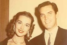 Barbara Rush ~ Jeffery Hunter (1926-1969) / A good actress and beautiful too.  Barbara Rush use to be married to Jeffrey Hunter. That is why they are on the same board.