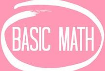 basic math / course description: learn the basic tools for simple math. many manipulatives will be implemented.