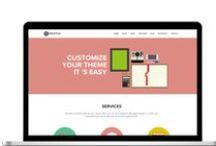 Web Design / Website design inspiration for creative entrepreneurs  / by Megan Powell - Brand Designer