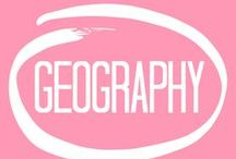 geography / course description: a study of the earth and it's various features as related to land and water. also, important distinctions between the imaginary lines that people have created will be discussed and learned.