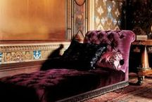 Interior Design - Victorian Melancholia / Turn of the Century's Belle Époque, Orientalism and Bohemian Style / by Donani
