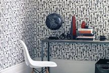 TREND: Life in Black & White / Greys, whites and blacks can provide drama and contrast for a modern feel and crisp finish. Papers with a strong motif add a striking edge.
