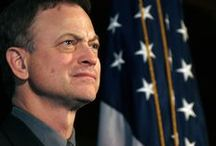Gary Sinise / He is to me an Honorable Celebrity,  he does so much for our military.  He is one of my Heroes.