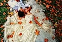 Fall Weddings / All the inspiration you need to plan your gorgeous fall wedding! This board includes beautiful makeup, dresses, hairstyles, receptions, bouquets, and nails ideas.