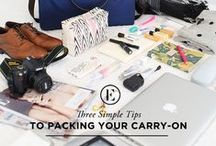 Travel Tips & Tricks / Here are some packing and traveling tips and tricks to make your travel experience all the more simple and enjoyable!