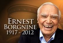 Ernest Borgnine (1917-2012) / Ermest Borgnine is a well respected actor.  He is talented in every aspect of his talent.  He has stared in Drama, Western, Comedy and even Musicals.  Great actor,
