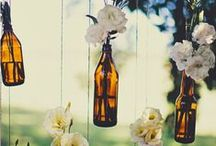 DIY Wedding Decorations / This board has crafty do it yourself ideas for brides to help you plan fun decorations, guest books, centerpieces, food, flowers, cakes, receptions, bouquets, favors, dresses, makeup, veils, photo booths and more!