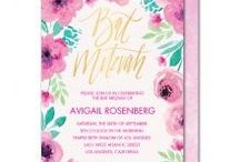 Bat Mitzvah Inspiration / Inspiration for everything from invitations to decor to party favors for bat mitzvahs!
