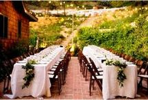 wedding reception spaces / by Stefanie Miles