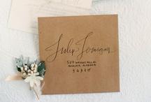 paper details + invitations / by Stefanie Miles