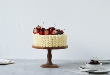 cakes + desserts / by Stefanie Miles