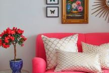 For The Home / Our colorful inspirations for home decor from our design team at Mixed Bag Designs