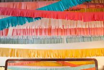 Crepe paper ♥ / by Megan Bailey