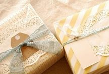 Pretty wrapping ♥ / by Megan Bailey