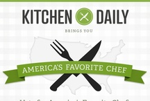 America's Favorite Chef / We're on a quest to find America's Favorite Chef. We want to hear from you! Who is your favorite chef?  Vote now! http://www.kitchendaily.com/americas-favorite-chef / by Kitchen Daily