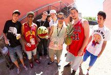 """Slash & Smash Crew TAF 2013 / Fotografías por Santiago Benito """"Hori"""" y Javier """"Mani"""" Queizan Slash & Smash Crew TresAcordesFest Sabado 22 de junio"""