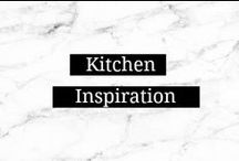 Kitchen Inspiration / Kitchen color schemes, decor and furnishings / by Amanda    Marry Mint