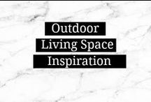 Outdoor Living Space / Patio furniture, landscaping and lighting for the porch or patio.  / by Amanda    Marry Mint