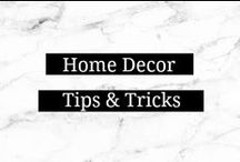 Home Decor Tips & Tricks / by Amanda    Marry Mint
